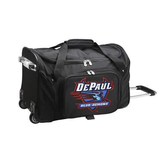 CLDPL401: NCAA Depaul 22IN WHLD Duffel Nylon Bag